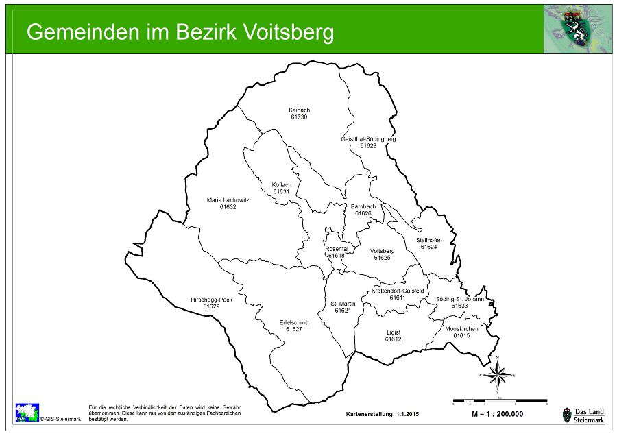 Statistische Daten - BH Voitsberg - Land Steiermark