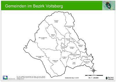 Steiermark Karte Flüsse.Die Gemeinden Des Bezirkes Voitsberg Bh Voitsberg Land Steiermark
